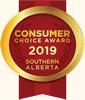 Consumer Choice Award 2019 Southern Alberta