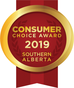 2019 Southern Alberta Consumer Choice Award Winner