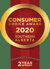 Consumer Choice Award 2020 Southern Alberta (2 Year Winner)