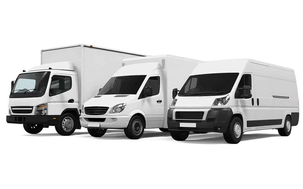 Calgary area delivery vehicles